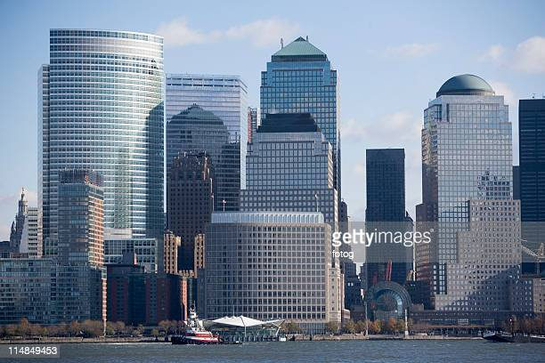 usa, new york state, new york city, skyline - state stock pictures, royalty-free photos & images