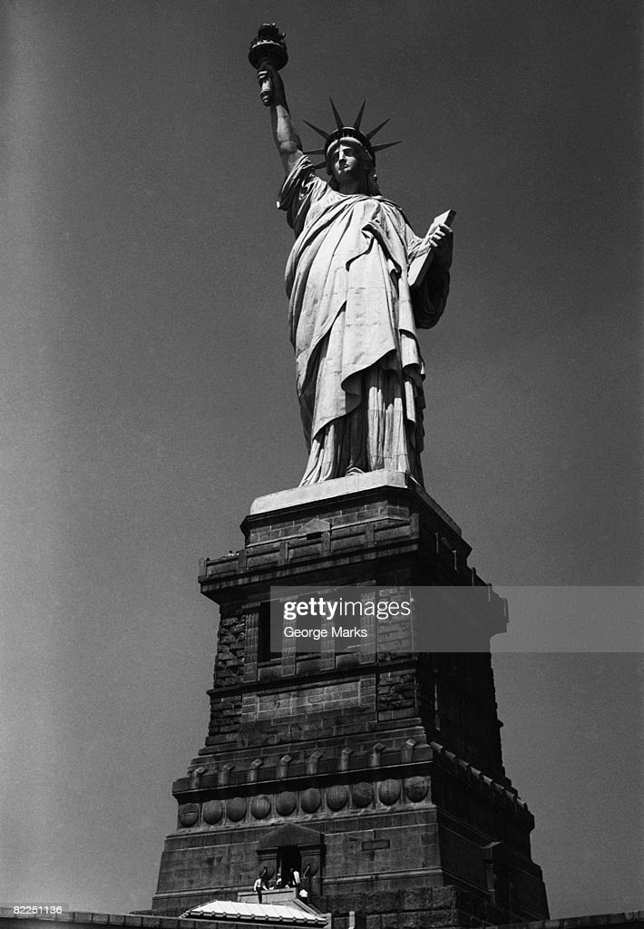 USA, New York State, New York City, Statue of Liberty : Stock Photo