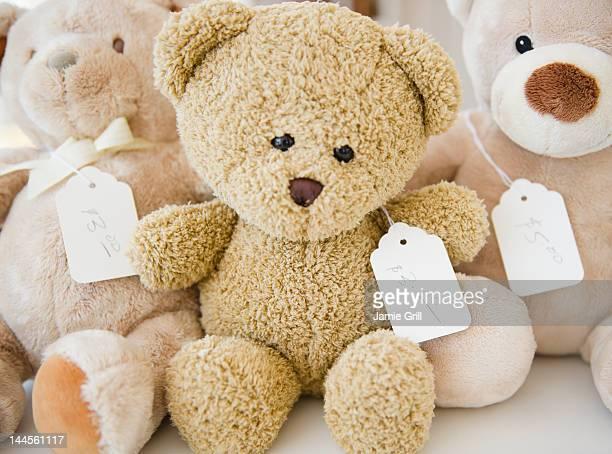 USA, New York State, New York City, Teddy bears
