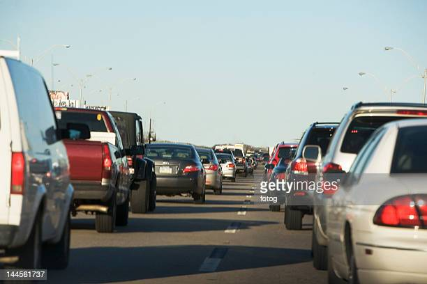 USA, New York State, New York City, Traffic on road
