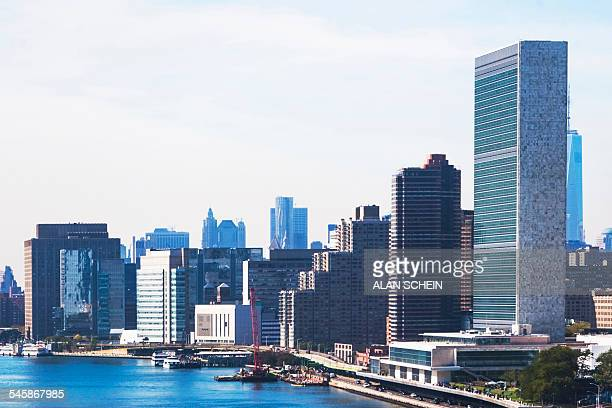 USA, New York State, New York City, United Nations Building