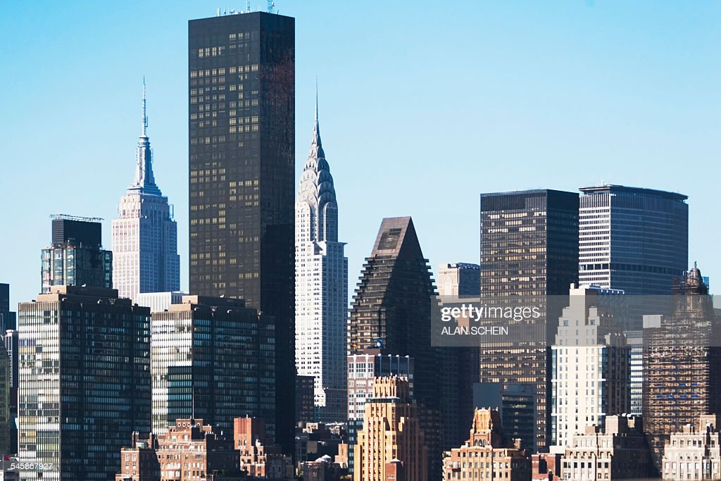 Usa new york state new york city view of trump tower stock for Trump plaza new york city