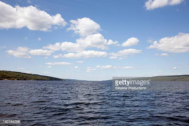usa, new york state, scenic view of seneca lake - finger lakes stock pictures, royalty-free photos & images