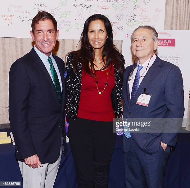 New York State Senator Jeffrey Klein Padma Lakshmi and Dr Tamer Seckin attend the 6th Annual Endometriosis Foundation Of America's Medical Conference...