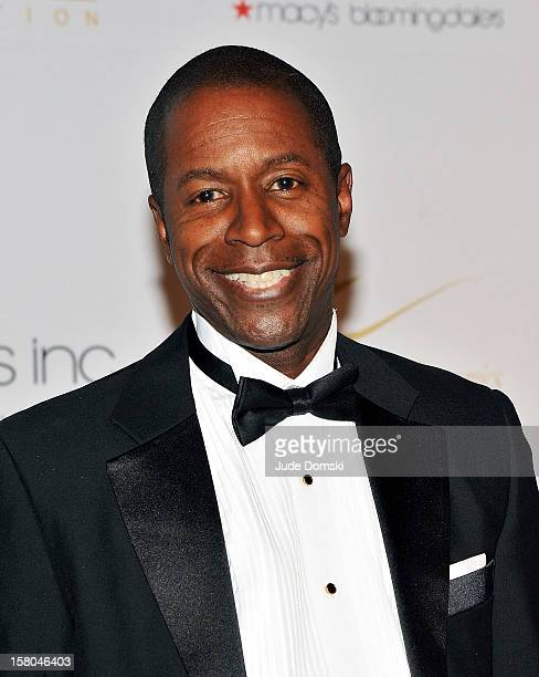 New York State Senator Malcolm A Smith attends the 2012 European School Of Economics Foundation Vision And Reality Awards at Cipriani 42nd Street on...