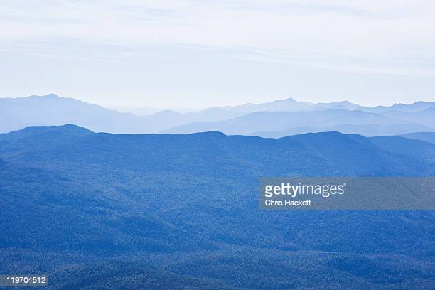 usa, new york state, view of adirondack mountains - hackett stock photos and pictures