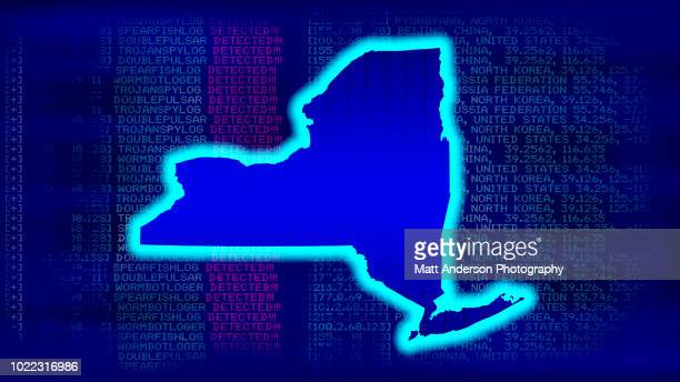 new york - state with malicious code - electoral college stock pictures, royalty-free photos & images