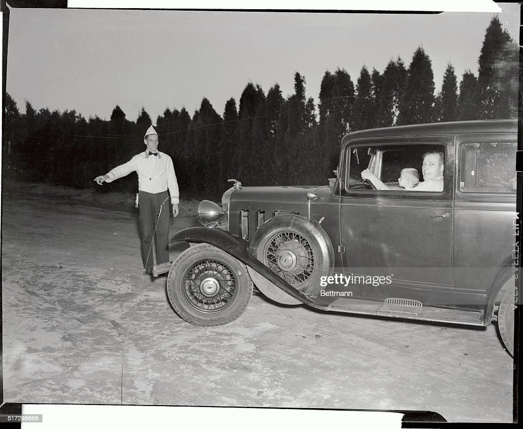 New York State's first open air drive-in theater in Long ...