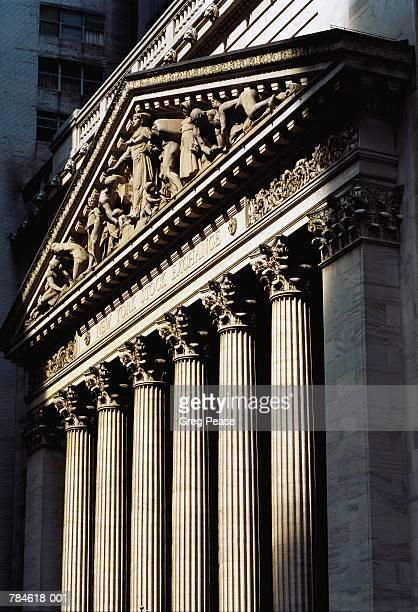 New York Stock Exchange exterior