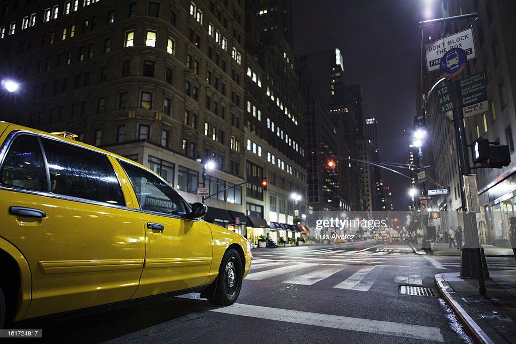 New York Taxi : Stock Photo