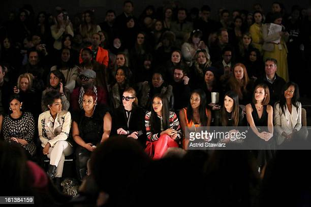 WNBC 4 New York television personality Darlene Rodriguez actress Angela Bassett Angela Simmons DJ Kiss actors Shanae Grimes Torrey DeVitto and...