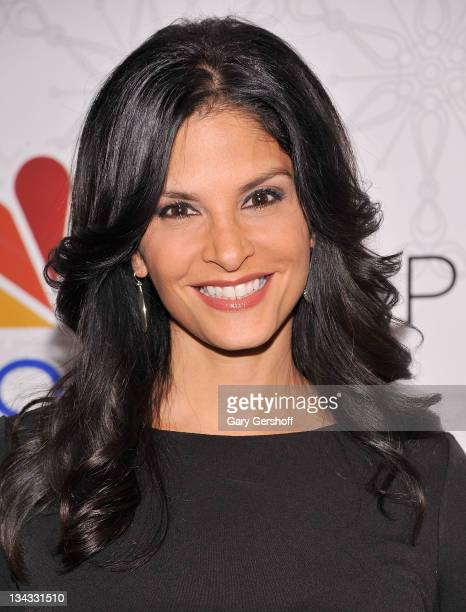 New York television personality Darlene Rodriguez attends Rockefeller Center Christmas Tree Lighting Party at Rock Center Cafe on November 30 2011 in...