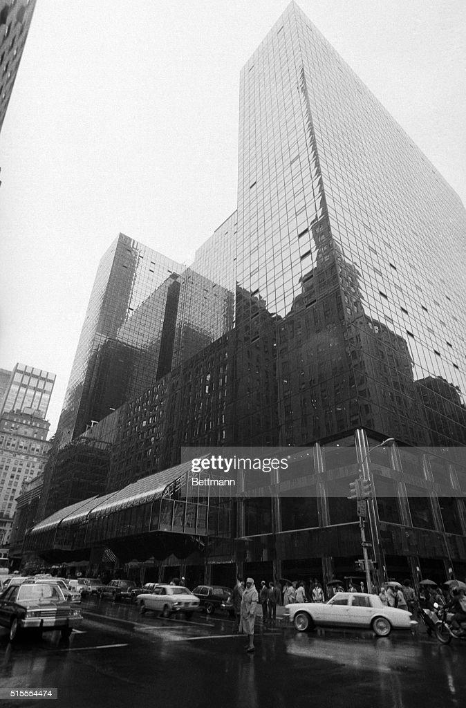 Grand Hyatt Hotel : News Photo