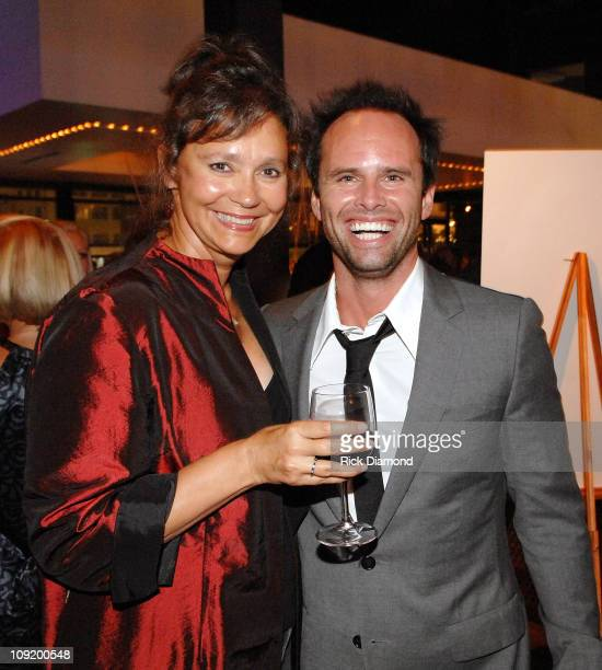 New York Times Best Seller Jill Conner Browne and Actor Walton Goggins at the after party for Randy and The Mob Held at STRIP in Atlantic Station...