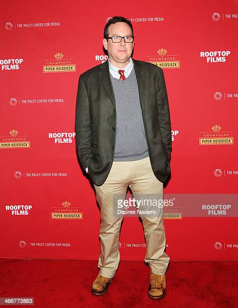 New York Times Chief Film Critic AO Scott attends 'Life Itself' New York Premiere based on the memoir of film critic Roger Ebert at Paley Center For...