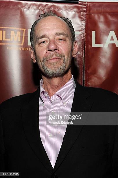 New York Times columnist David Carr attends the 'Page One Inside the New York Times' Q A during the 2011 Los Angeles Film Festival held at Regal...