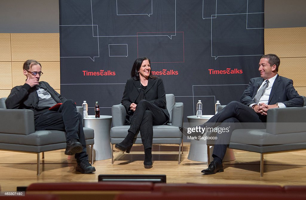 TimesTalks Presents: A Conversation With Edward Snowden, Laura Poitras And Glenn Greenwald