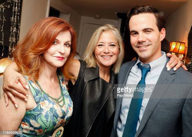 New York Times columnist Maureen Dowd American pundit Hilary Rosen and Journalist Robert Costa attend an event to celebrate Hulse's new book...