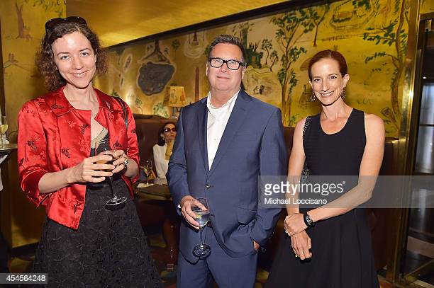 New York Times fashion features writer Alexandra Jacobs New York Times Styles editor Stuart Emmrich and New York Times Fashion Director Vanessa...