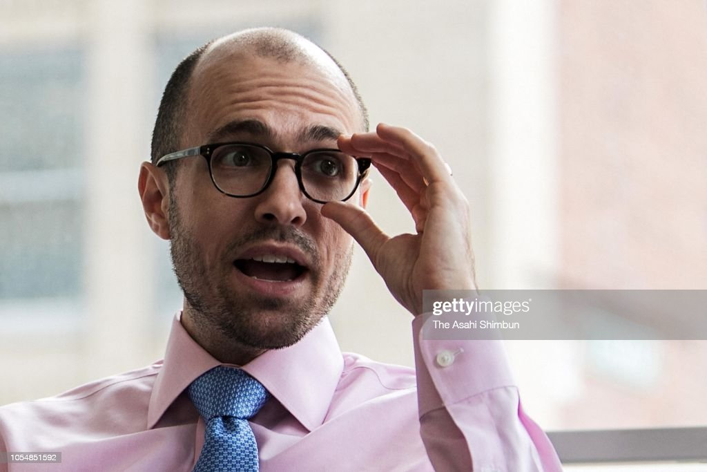 New York Times Publisher Arthur Gregg Sulzberger Interview : News Photo