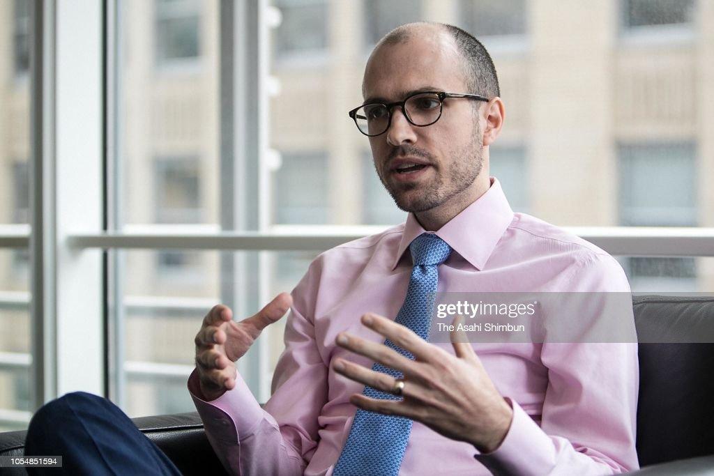 New York Times Publisher Arthur Gregg Sulzberger Interview : News Photo