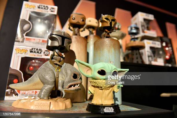 New York Toy Fair Product Showcase: THE MANDALORIAN And STAR WARS: THE CLONE WARS at Dream Hotel on February 20, 2020 in New York City.