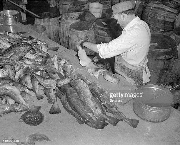Traffic is heavy at shipping piers such as No 16 on South Street To its right is the famed Fulton Fish Market whose operations clog traffic every...