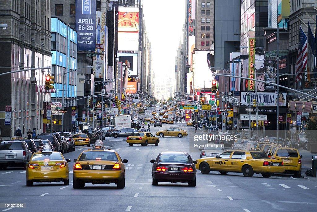 New York traffic : Stock Photo