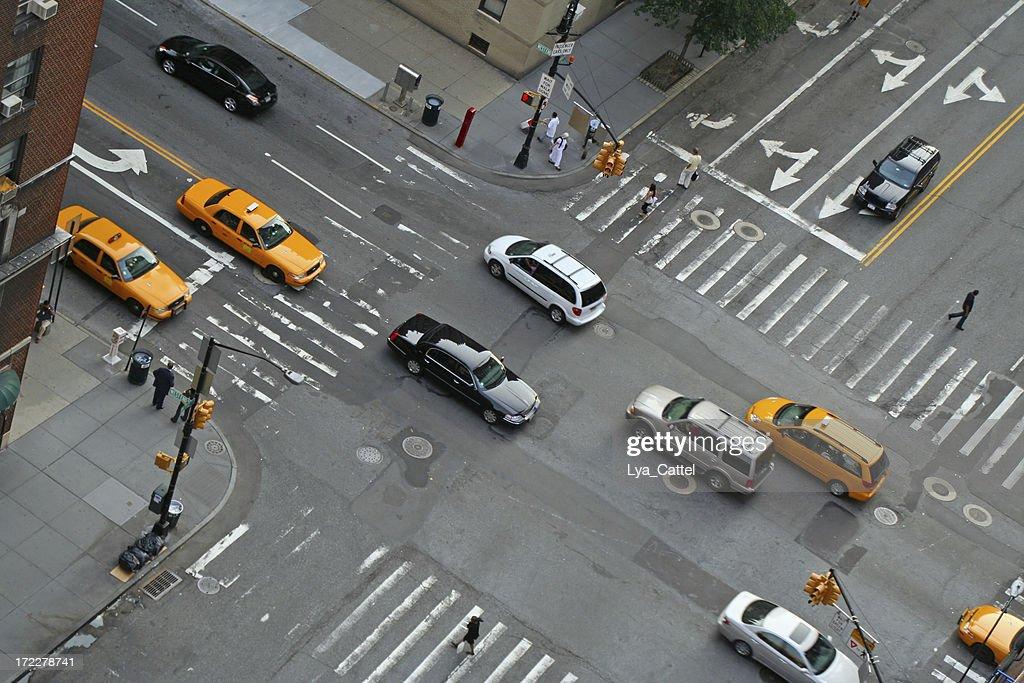 New York traffic # 1 : Stock Photo