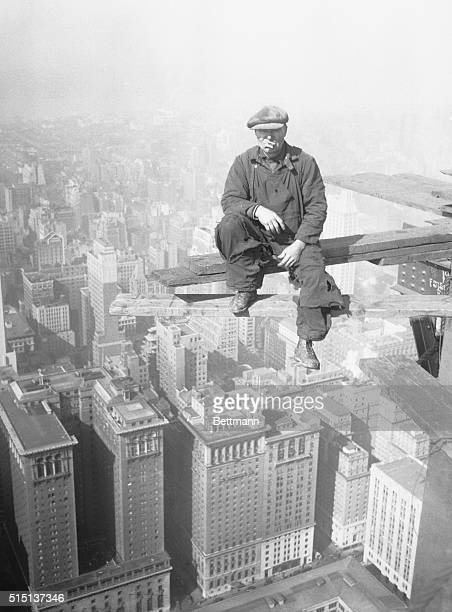 Twentyseven years of skyscraper building have made Michael Borsh contemptuous of great heights He is eating a sandwich on top of the Chrysler...