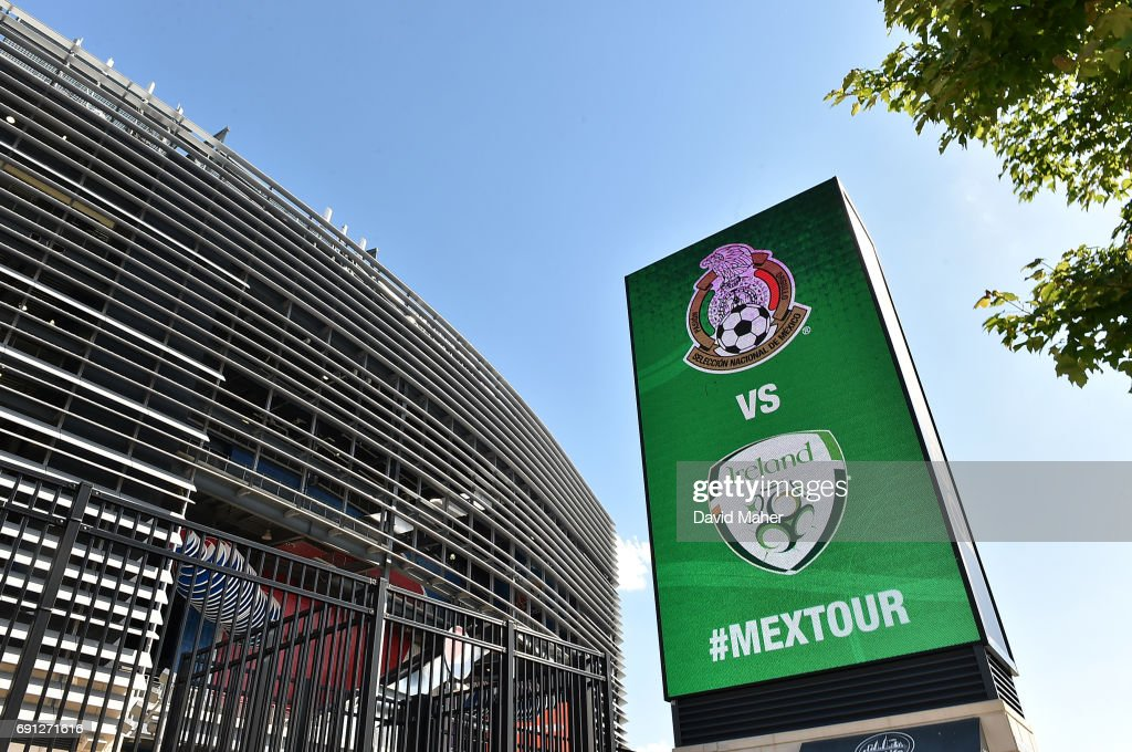 New York , United States - 1 June 2017; A general view outside the stadium before the International Friendly match between Republic of Ireland and Mexico at the MetLife Stadium in New Jersey, USA.