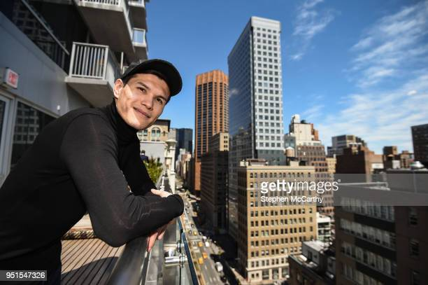 New York United States 26 April 2018 Daniyar Yeleussinov poses for a portrait following a press conference at Mondrian Park Avenue ahead of the...