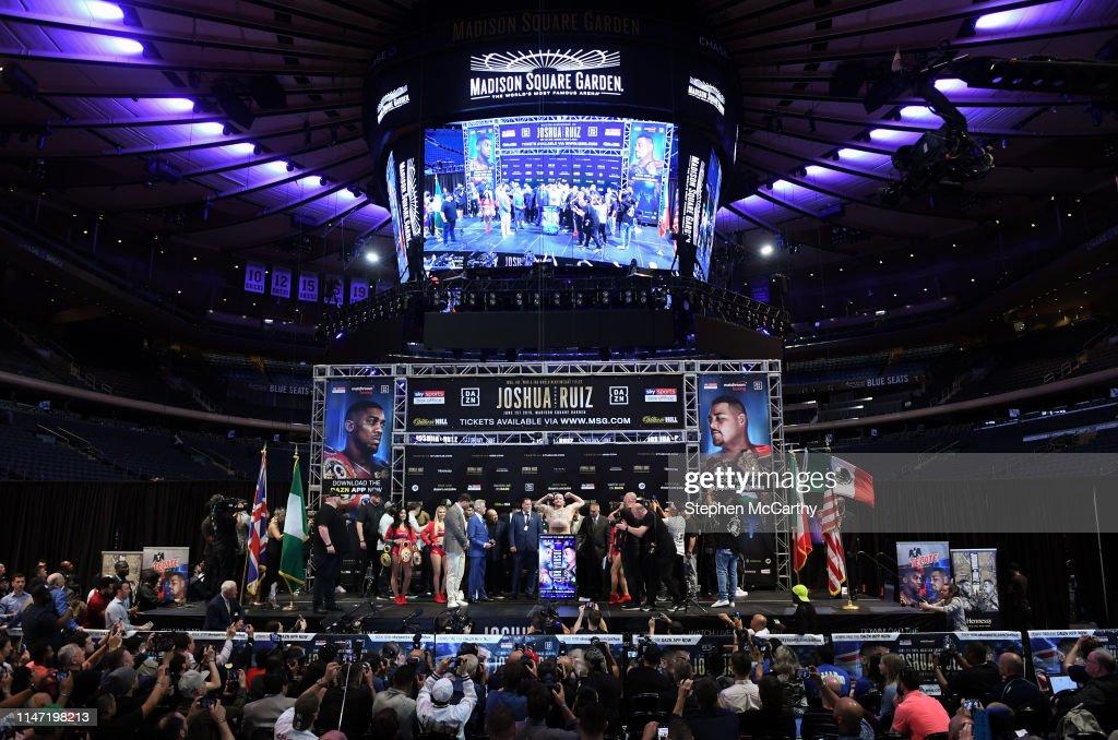 Anthony Joshua vs. Andy Ruiz Jr. - Weigh Ins : News Photo