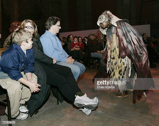 A creature makes its way down the aisle during The Grand Procession of the Ghouls at the Halloween Extravaganza and Procession of the Ghouls 27...