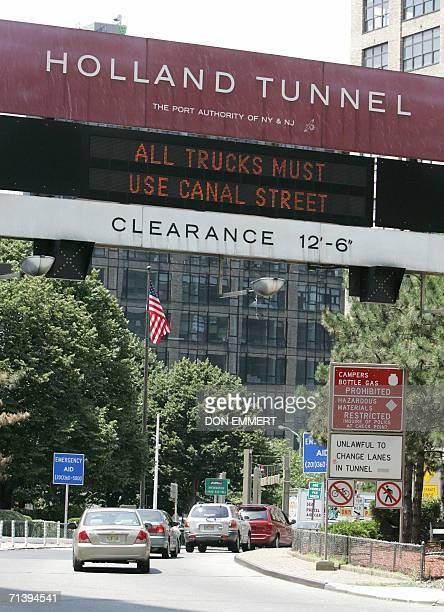 holland tunnel clearance