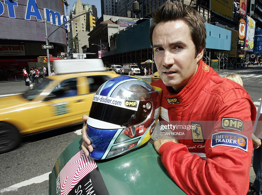 French race car driver Michel Disdier po... Pictures | Getty Images