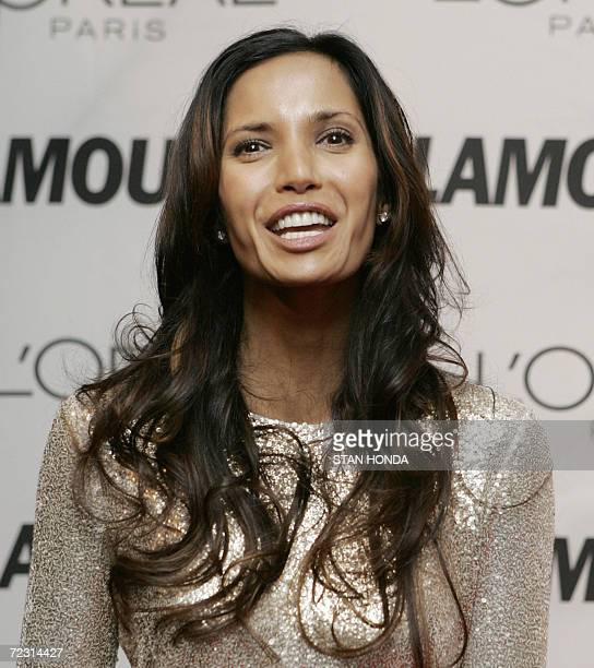 Indian model and actress Padma Lakshmi wife of British writer Salman Rushdie arrives 30 October 2006 at the 17th Annual Glamour Women of the Year...