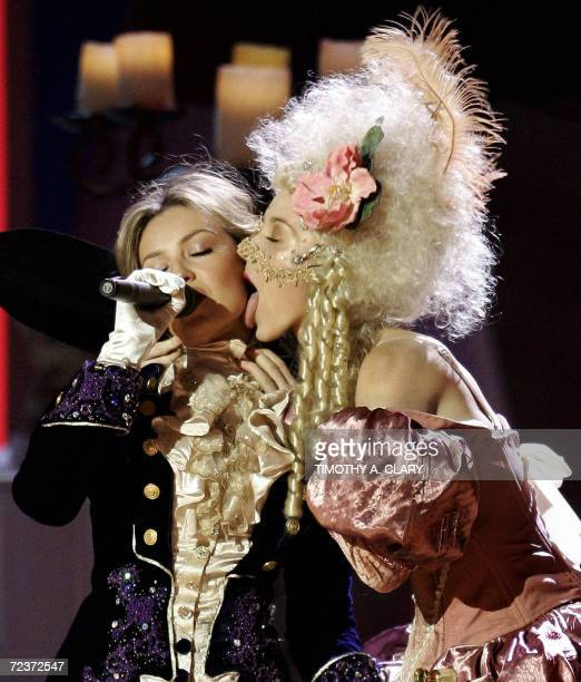 Thalia performs during the 7th Annual Latin Grammy Awards at Madison Square Garden 02 November 2006 in New York The Latin Grammys is the world's...
