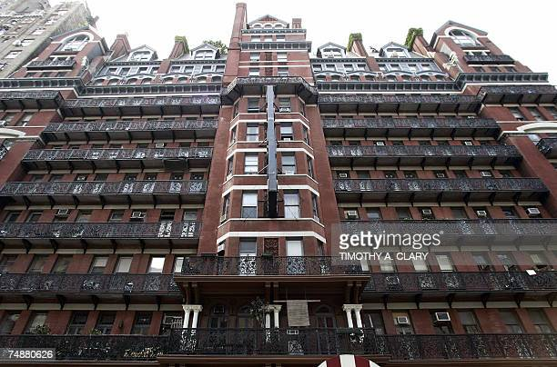 The facade of the Hotel Chelsea in New York City 25 June 2007 Chelsea Hotel manager Stanley Bard who has been a fixture at the Chelsea for more than...