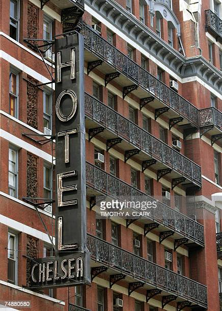 The front at the Hotel Chelsea in New York City 25 June 2007 Chelsea Hotel manager Stanley Bard who has been a fixture at the Chelsea for more than...