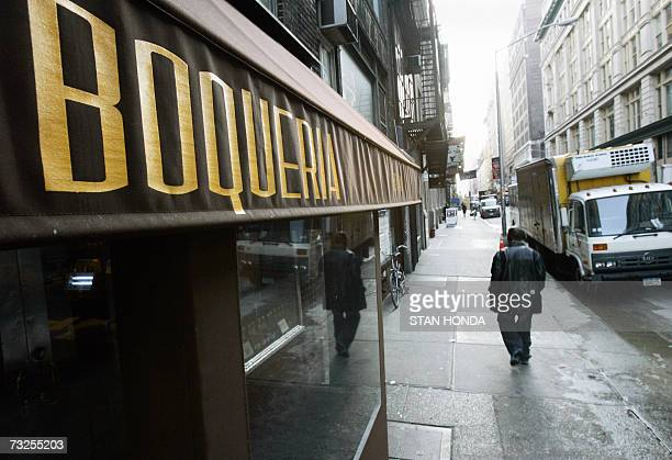 TO GO WITH AFP STORY BY ALFONSO LUNAEEUUSPAINBARCELONA CONQUERS A PLACE IN THE HEART OF NEW YORKERS Named after a street in Barcelona Spain Boqueria...