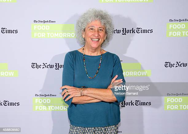 New York University Professor of nutrition Marion Nestle attends The New York Times Food For Tomorrow Conference At Stone Barns NY on November 11...