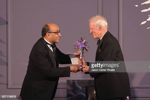 New York University Professor of Philosophy Kwame Anthony Appiah and Philosopher Charles Taylor attend The Berggruen Prize Gala Honoring Philosopher...