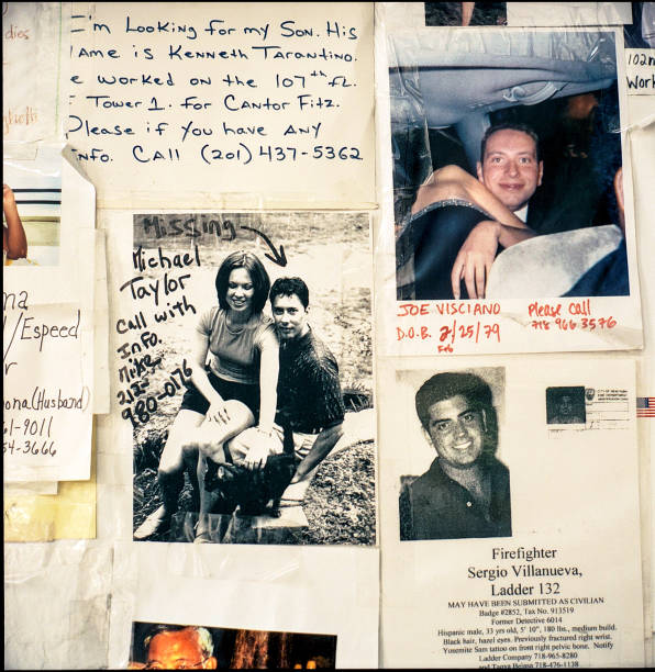 USA: Heartbreaking Photos Of The 9/11 Missing People Posters