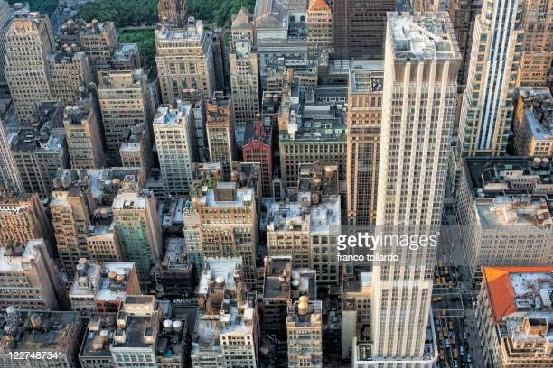 new york view from the top of the empire - metropolitan museum of art new york city stock pictures, royalty-free photos & images