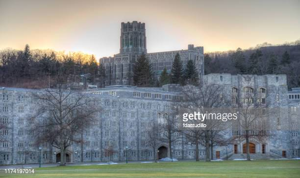 new york - west point - cadet chapel - west point military academy stock pictures, royalty-free photos & images