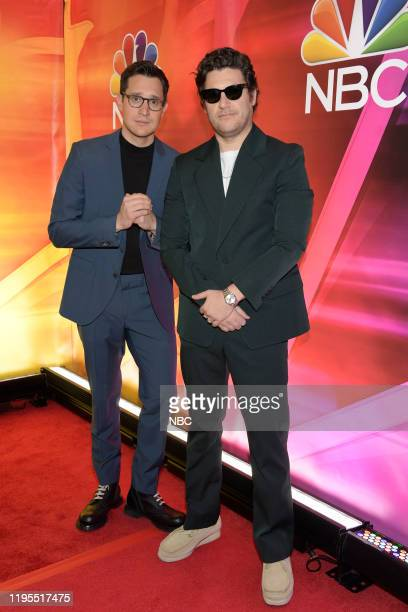 """New York Winter Press Junket -- Pictured: Dan Levy, Creator and Executive Producer; Adam Pally, """"Indebted"""" on NBC --"""