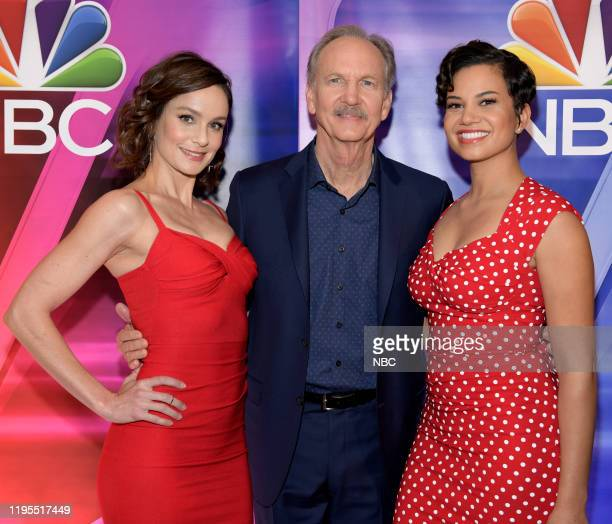"New York Winter Press Junket -- Pictured: Sarah Wayne Callies, Michael O'Neill, Michele Weaver, ""Council of Dads"" on NBC --"