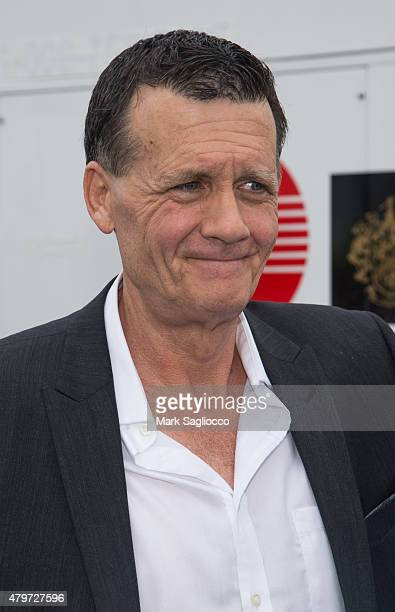 New York Yankee CoOwner Hank Steinbrenner attends the 2015 Hank's Yanks Golf Classic at the Trump Golf Links Ferry Point on July 6 2015 in New York...
