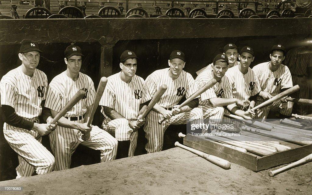 Yankee Sluggers 1940 : News Photo